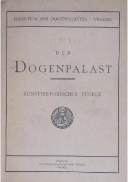 Der dogenpalast von venedig, 1943 r.