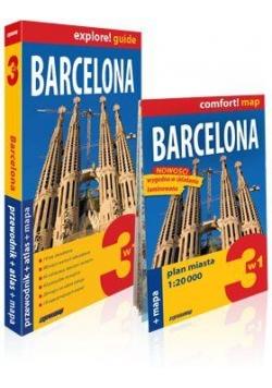 Explore!guide Barcelona 3w1 Przewodnik w.IV