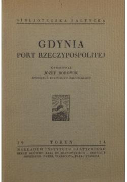 Gdynia port Rzeczypospolitej, 1934 r.