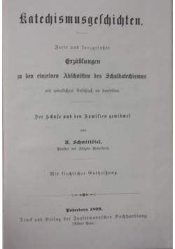 Katechismusgeschichten, 1899 r.