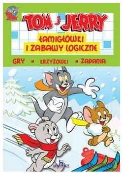Tom i Jerry.Łamigłówki i zabawy logiczne (zielone)