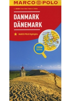 Mapa ZOOM System. Dania 1:300 000 plan miasta