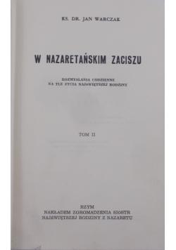 W nazaretańskim zaciszu , tom II