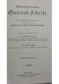Quartal=Schrift,1907r.