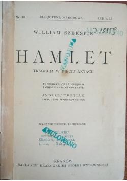 Hamlet. Tragedja w 5 aktach, 1925 r.