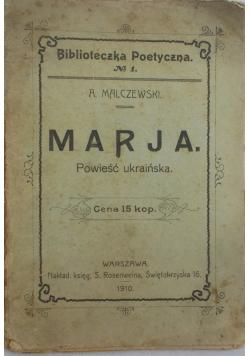 Marja, 1910 r.