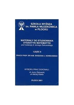 Szkoła wyższa im. Pawła Włodkowica w płocku materiały do studiowania dydaktyki matematyki