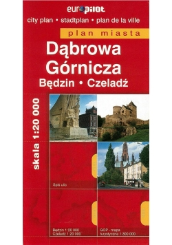 Plan Miasta EuroPilot. Dąbrowa Górnicza br