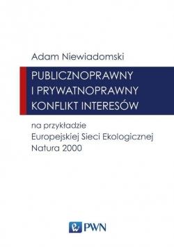 Publicznoprawny i prywatnoprawny konflikt interes.