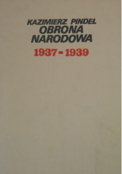 Obrona narodowa 1937-1939