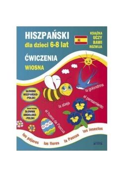 Hiszpański dla dzieci 6-8 lat. Ćwiczenia. Wiosna