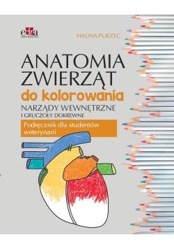 Anatomia zwierząt do kolorowania.