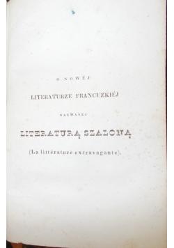 O nowej literaturze Francuzkiej, 1838 r.