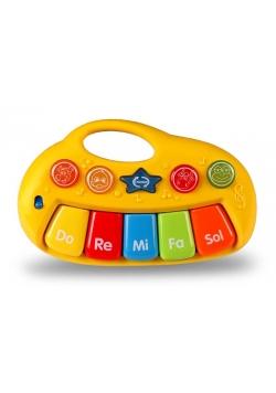 Zabawka muzyczna zwierzakowe pianinko E-Edu