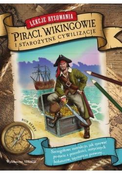 Lekcje rysowania. Piraci, Wikingowie...