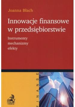 Innowacje finansowe w przedsiębiorstwie