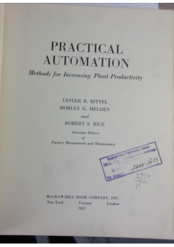 Practical automation