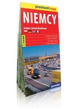 Premium!map Niemcy 1:750 000 mapa