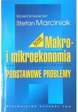 Makro i mikroekonomia. Podstawowe problemy