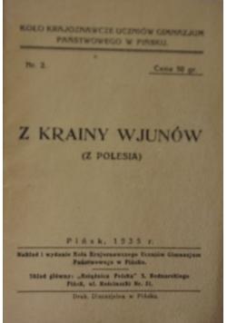 Z krainy wjunów (z Polesia), 1935