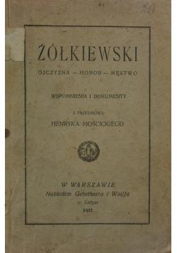 Ojczyzna-Honor-Męstwo ,1921r.