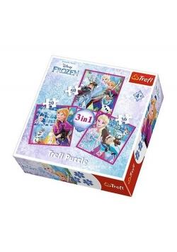 Puzzles 3w1 Zimowa magia