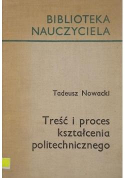 Treść i proces kształcenia politechnicznego