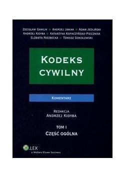 Kodeks cywilny komentarz tom 1