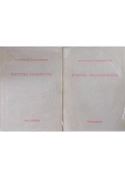 Estetyka starożytna / estetyka średniowieczna zestaw 2 książek