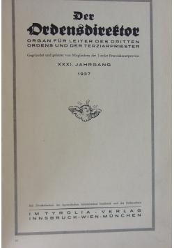 Der Ordensdirektor, 1937 r.