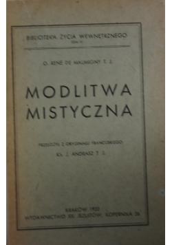 Modlitwa Mistyczna ,1922r.
