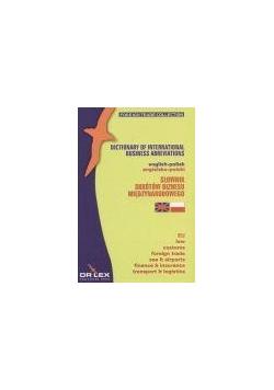 Słownik skrótów biznesu międzynarodowego