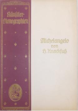 Michelangelo von r. knackfuss, 1922r.
