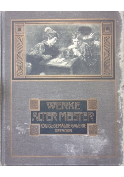 Werke Alter Meister ,ok.1930r.