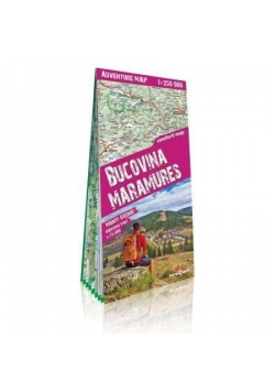 Adventure map Bukowina i Maramuresz 1:250 000