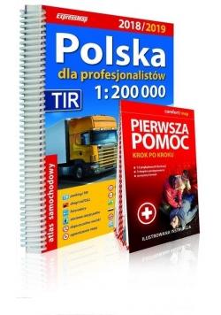 Atlas sam. Polska 2018/2019 dla prof. 1:200 000