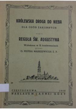 Królewska droga do nieba dla osób zakonnych ,1948r.