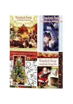 Kartka B6 Świąteczna MIX Boże Narodzenie AVANTI