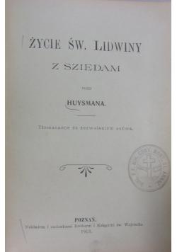 Życie św. Lidwiny z Sziedam, 1905 r.