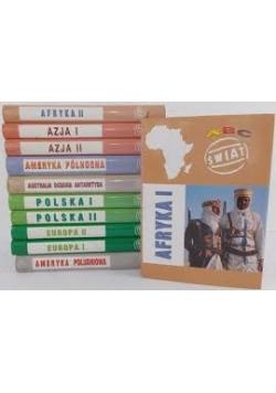 ABC Świat, zestaw  11 książek