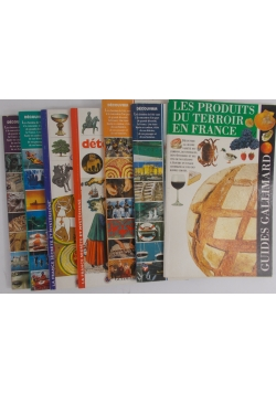 Guides Gallimard, zestaw 7 książek