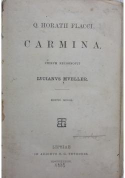 Carmina, 1889r.