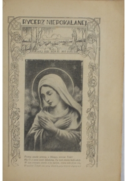 Rycerz niepokalanej, Rok XI, 1932r.