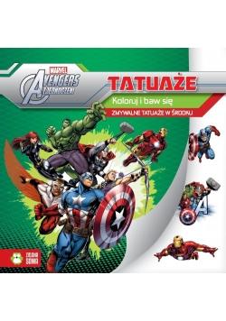 Tatuaże. Avengers - Marvel