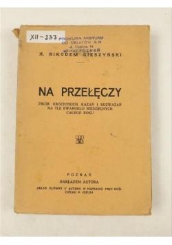 Na przełęczy, 1936 r.