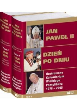 Jan Paweł II Dzień po dniu Tomy 1-2,Nowa