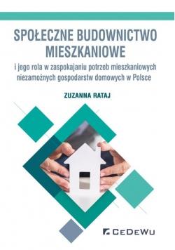 Społeczne budownictwo mieszkaniowe i jego rola...