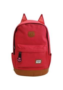 Plecak zaokrąglony Cat Pink
