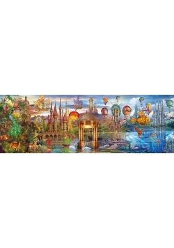 Puzzle Panorama Fantasy Panoramic 1000