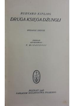Druga księga dżungli,1928r.
